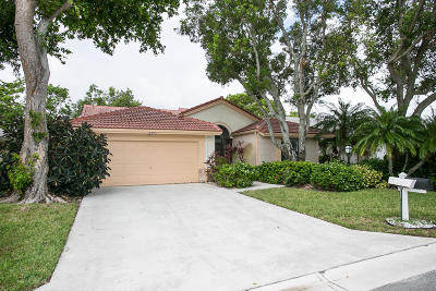 Boynton Beach Single Family Home For Sale: 8891 Boatswain Drive