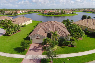 Port Saint Lucie Single Family Home For Sale: 11719 SW Apple Blossom Trail