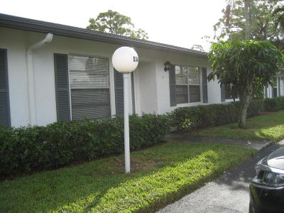 Delray Beach Single Family Home For Sale: 5348 Poppy Place #B