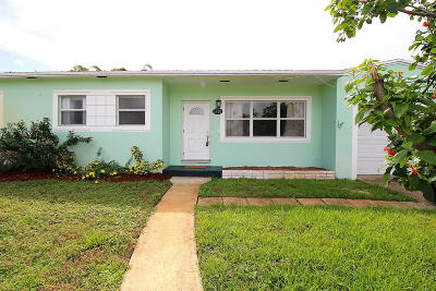 Lake Worth Single Family Home Contingent: 1715 12th Avenue