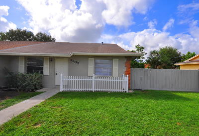 West Palm Beach Single Family Home Contingent: 3809 Van Cott Circle