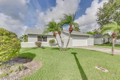 Boca Raton Single Family Home For Sale: 9765 Saddlebrook Drive