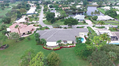 Boynton Beach Single Family Home For Sale: 11910 Lake Drive