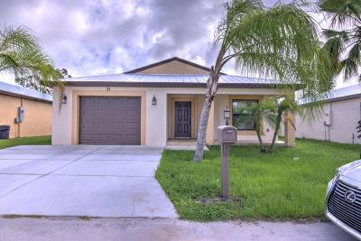 Port Saint Lucie Single Family Home For Sale: 21 El Camino Real