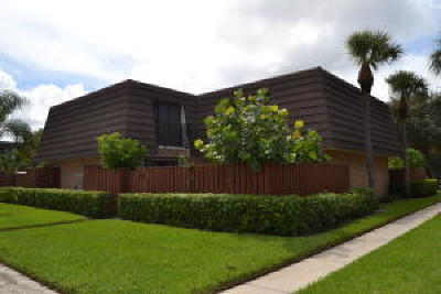 Jupiter Townhouse For Sale: 1206 12th Court