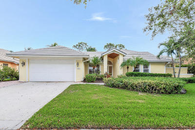 Tequesta Single Family Home For Sale: 9806 SE Landing Place