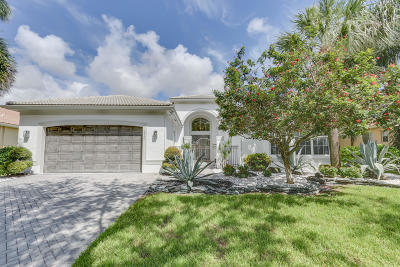 Delray Beach Single Family Home For Sale: 9736 Baywood Park Lane