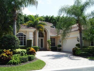 Delray Beach Single Family Home For Sale: 6638 Bristol Lake S