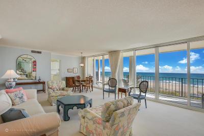 Ocean Towers, Ocean Towers Condominium, Ocean Towers South Condo Apts Condo For Sale: 2800 S Ocean Boulevard #3-B