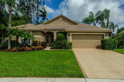Boynton Beach Single Family Home For Sale: 4411 Sunset Cay Circle