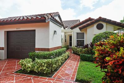 Delray Beach Single Family Home For Sale: 6051 Waldwick Circle