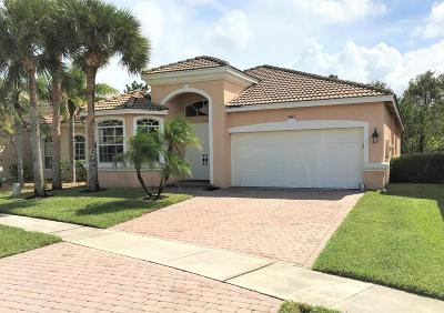 Lake Worth Single Family Home For Sale: 7411 Via Luria