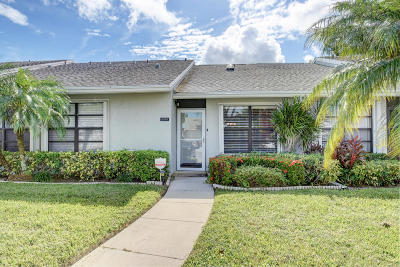 Boynton Beach Single Family Home For Sale: 12083 Country Greens Boulevard