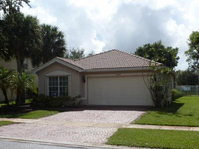 Royal Palm Beach Single Family Home For Sale: 11454 Garden Cress Trail