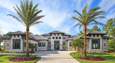 Palm Beach Gardens FL Single Family Home For Sale: $3,975,000