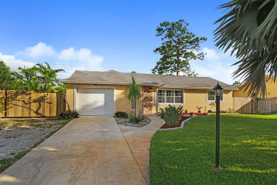 Boynton Beach Single Family Home For Sale: 3583 Ivanhoe