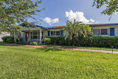 West Palm Beach Single Family Home For Sale: 1822 Antigua Road