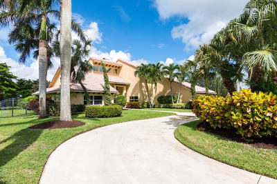 Boca Raton Single Family Home For Sale: 17680 Fieldbrook Circle