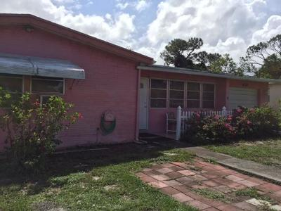 Boynton Beach Single Family Home For Sale: 630 W Ocean Avenue