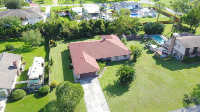 Greenacres Single Family Home For Sale: 5960 Woodwind Court