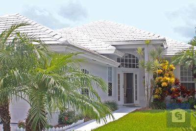 Port Saint Lucie Single Family Home Contingent: 450 SW Fairway Landings