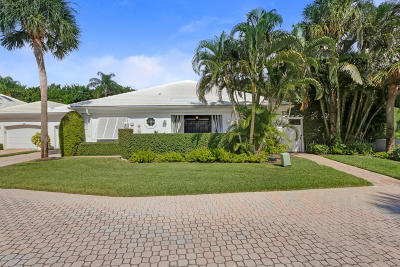 Jupiter Single Family Home For Sale: 4702 Captains Way