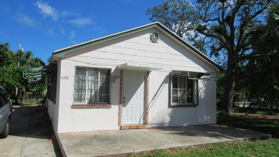 Lake Worth Multi Family Home For Sale: 630 S L Street