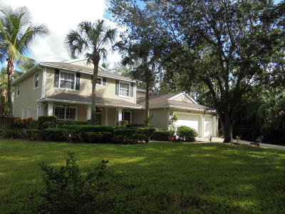 Jupiter Single Family Home For Sale: 11197 152nd Street