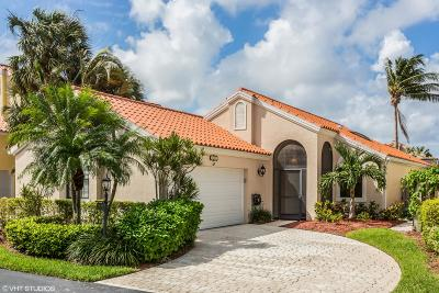 Palm Beach Gardens Single Family Home For Sale: 2650 La Lique Circle