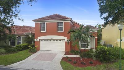 Palm Beach Gardens Single Family Home Contingent: 4109 Dakota Place