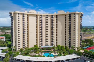West Palm Beach Condo Sold: 2450 Presidential Way #508