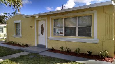 West Palm Beach Single Family Home For Sale: 562 Cherry Road