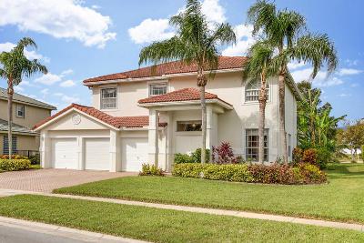 Wellington Single Family Home For Sale: 1701 Corsica Drive