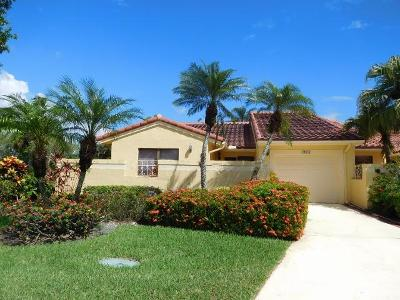 Boca Raton Single Family Home Contingent: 19952 Mona Circle
