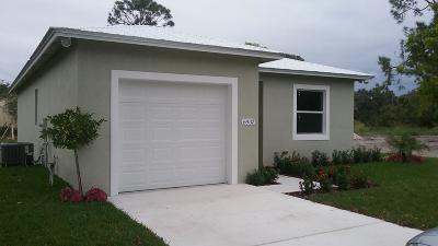 Jupiter Single Family Home For Sale: 6932 2nd Street