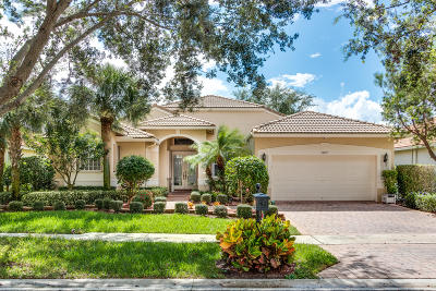 Boynton Beach Single Family Home For Sale: 12097 Oakvista Drive