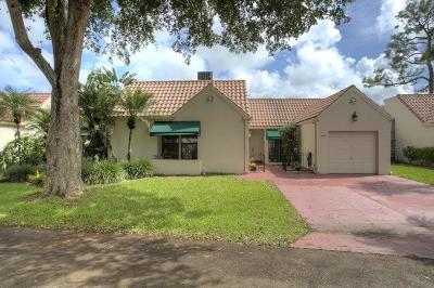 Boca Raton Single Family Home For Sale: 6362 Las Flores Drive