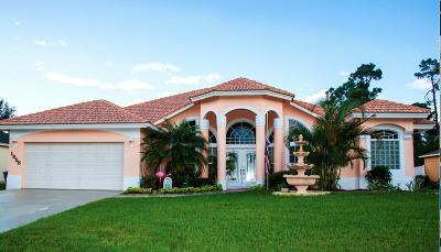 Port Saint Lucie Single Family Home For Sale: 1858 SW Bellevue Avenue