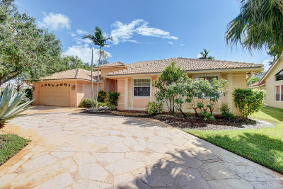 Boca Raton Single Family Home For Sale: 10774 Santa Rosa Drive
