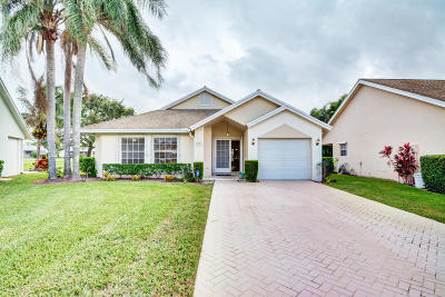 Jupiter Single Family Home For Sale: 140 Palomino Drive