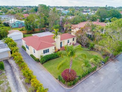 West Palm Beach Single Family Home For Sale: 356 Potter Road