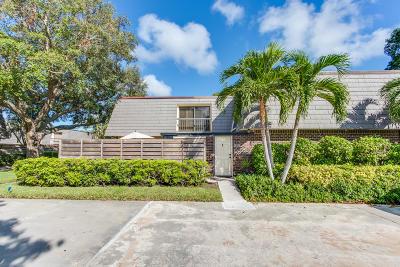 Palm Beach Gardens Townhouse For Sale: 1212 12th Terrace