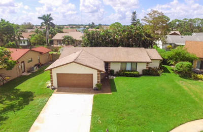 Lake Worth Single Family Home For Sale: 8206 Chatuga Court