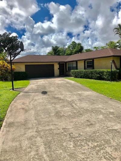 West Palm Beach Single Family Home For Sale: 3636 Maria Theresa Avenue