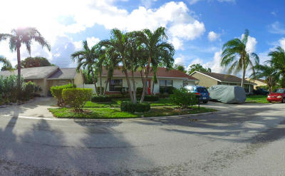 Lake Worth Single Family Home For Sale: 5958 Ithaca Circle W