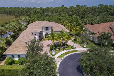 Palm Beach Gardens Single Family Home For Sale: 135 Via Palacio
