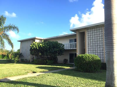 Boynton Beach Rental For Rent: 100 South Boulevard #2d