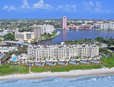 Boca Raton Condo Sold: 800 S Ocean Boulevard #204