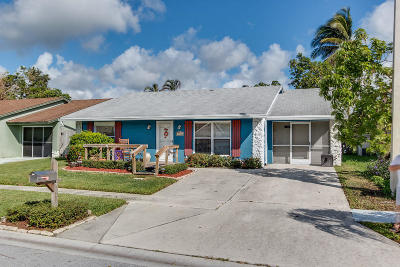 Lake Worth Single Family Home For Sale: 5958 Triphammer Road