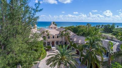 Delray Beach Single Family Home For Sale: 611 S Ocean Boulevard
